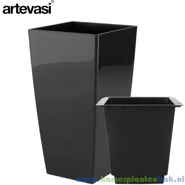 Artevasi Piza Ø 40 ↨ 78 zwart