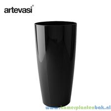 Artevasi Santorini Ø 33 cm ↨ 65 cm zwart