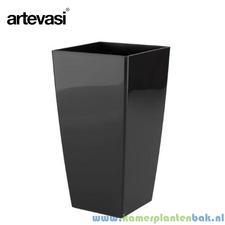 Artevasi Piza 33x33 cm ↨ 61 cm zwart