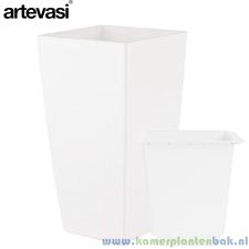 Artevasi Piza 40x40 cm ↨ 78 cm wit