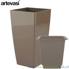 Artevasi Piza 40x40 cm ↨ 78 cm taupe